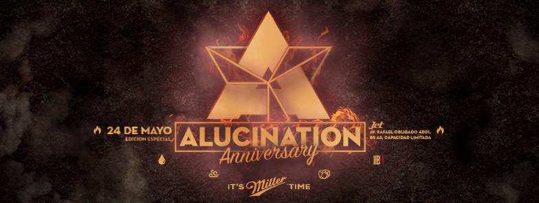 alucination fuego septimo aniversario