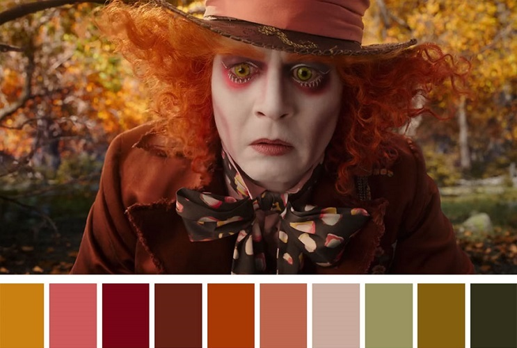 Cinema Palettes Alice Through the Looking Glass