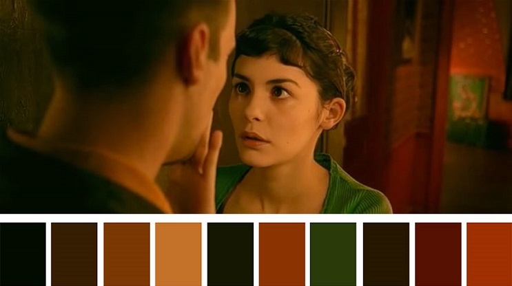 Cinema Palettes Amélie
