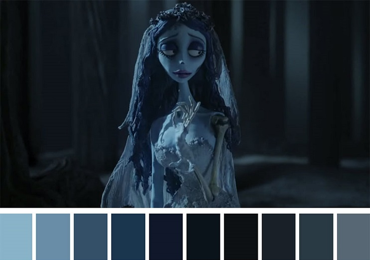 Cinema Palettes Corpse Bride