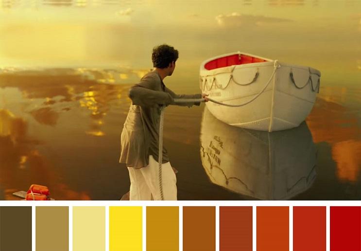 Cinema Palettes Life of Pi