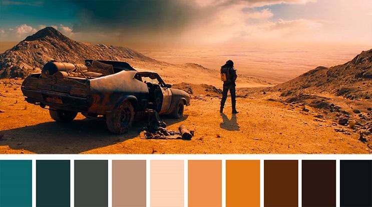 Cinema Palettes Mad Max Fury Road