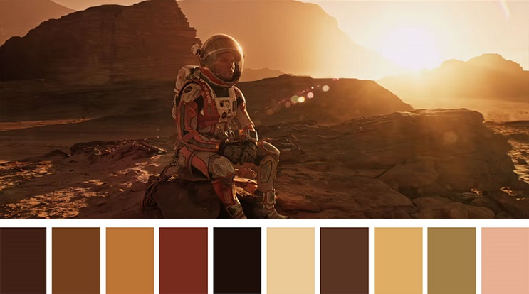 Cinema Palettes The Martian