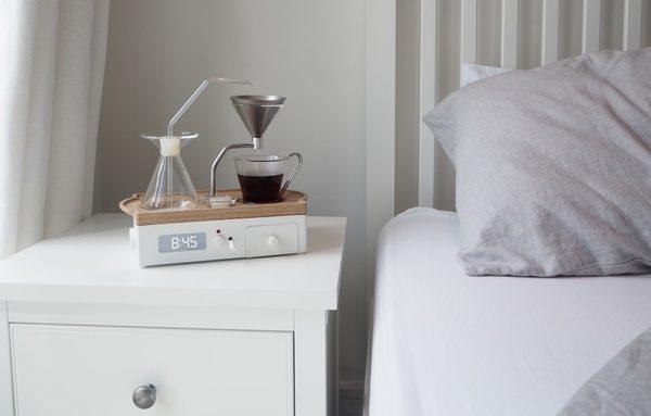 The Barisieur despertador cafe kickstarter loqueva