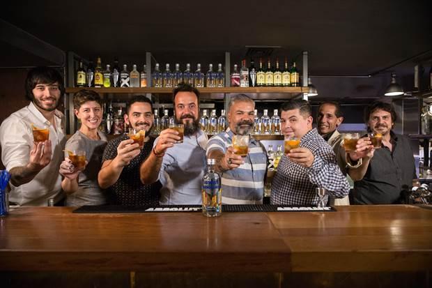 absolut porteño cocktail trago bartenders