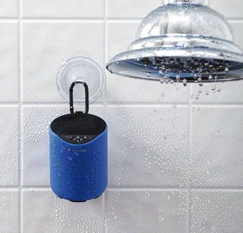verbatim speaker blootooth waterproof resistente al agua loqueva