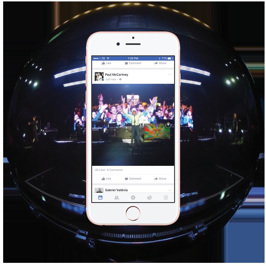 facebook fotos 360°