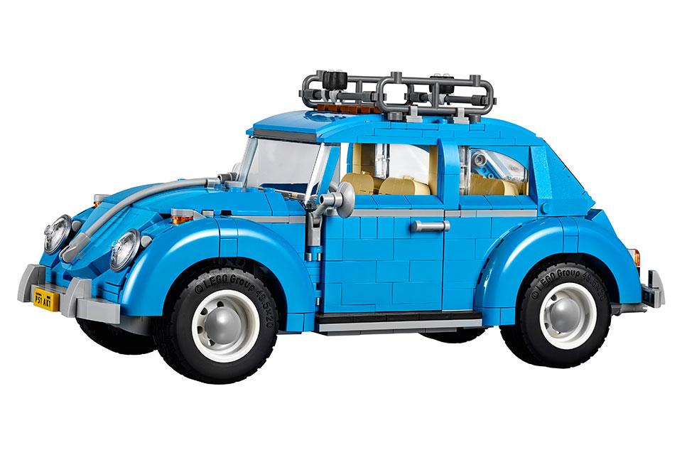 volkswagen beetle LEGO escarabajo loqueva auto set