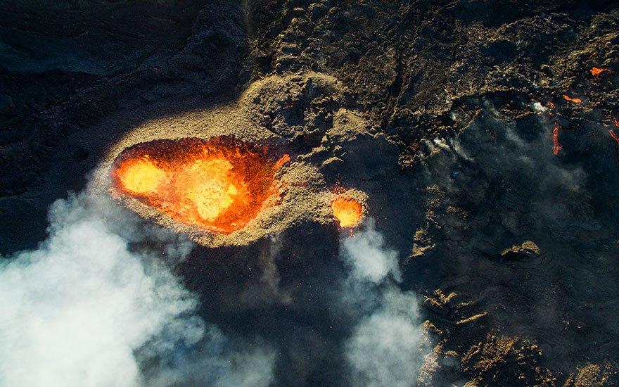 3 Tercer Premio Categoría Naturaleza Salvaje Piton De La Fournaise Volcano Isla de Reunión