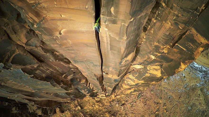 9 Primer Premio Deporte de Aventura Moab Rock Climbing Utah EE.UU. DRONESTAGRAM 2016