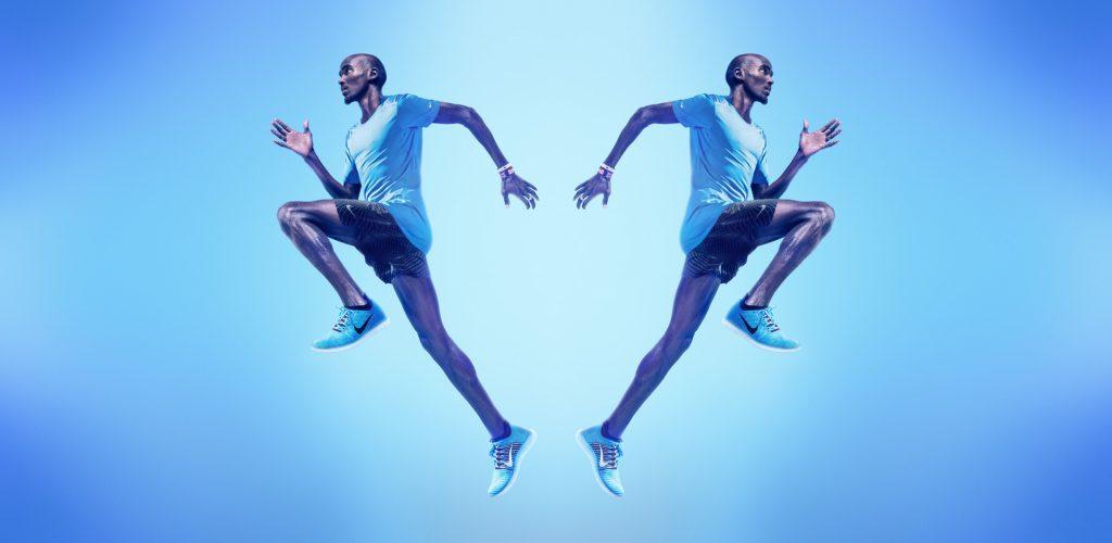 Mo Farah - Nike Free Revolution