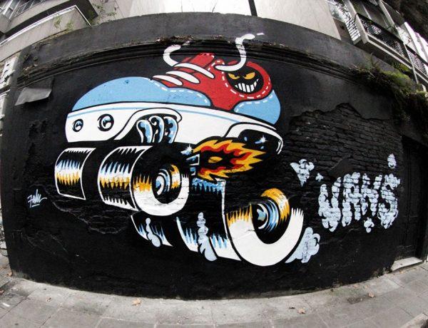 Vans Mural #Era por Falu Carolei loqueva