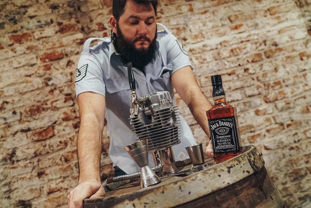 Gastón De Gennaro, bartender elegido por Jack Daniels para el concurso Barrel Hunt