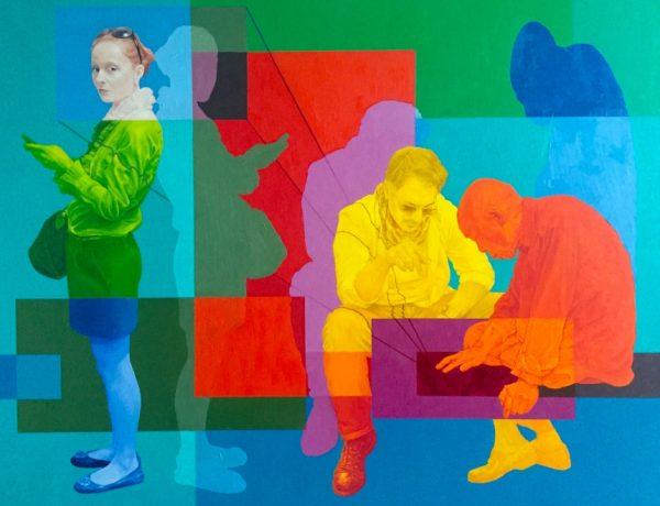 Imagined Narratives Artist Mark Liam Smith