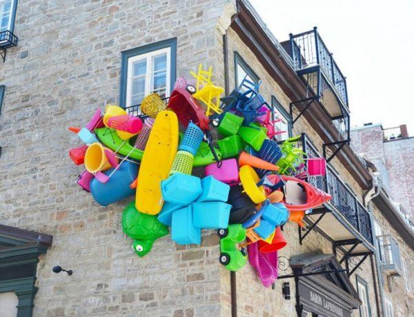 jose luis torres artista argentino basura trash canada