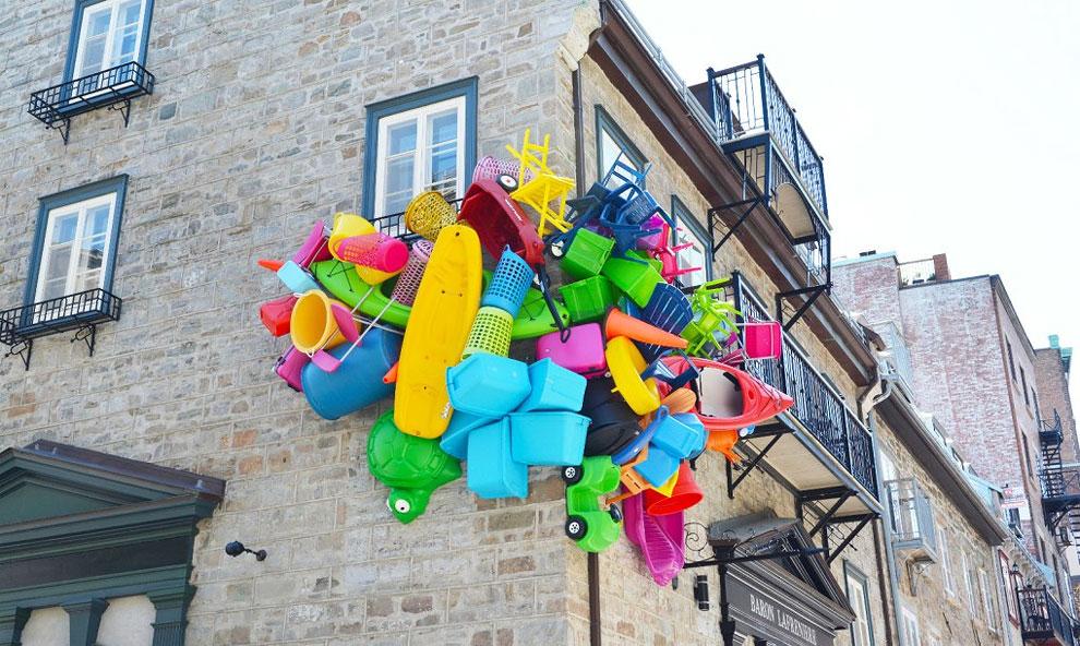 jose luis torres artista argentino basura trash canada (1)