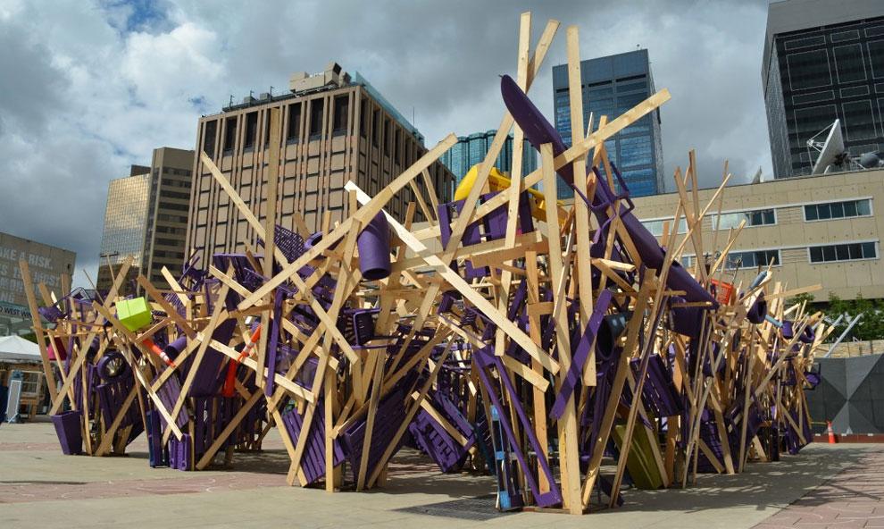 jose luis torres artista argentino basura trash canada (7)