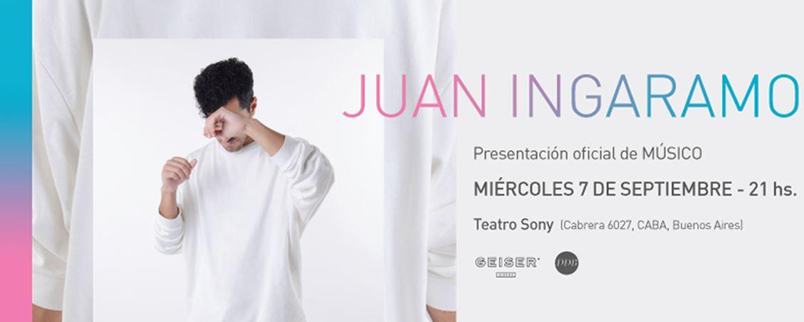 Juan Ingaramo Músico 2016