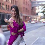 Agustina Casanova en NYFW junto a TRESemme New York Fashion Week