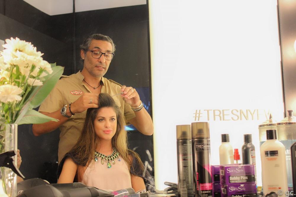 Agustina Casanova en NYFW junto a TRESemme New York Fashion Week (3)