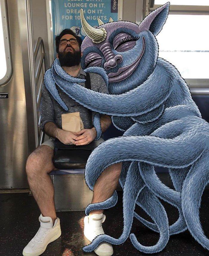 Ben_Rubin_subwaydoodle_Ilustraciones_subte