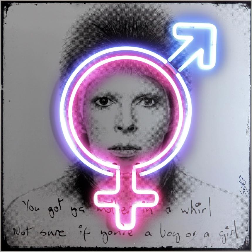 David Bowie Sex Symbol, 1973
