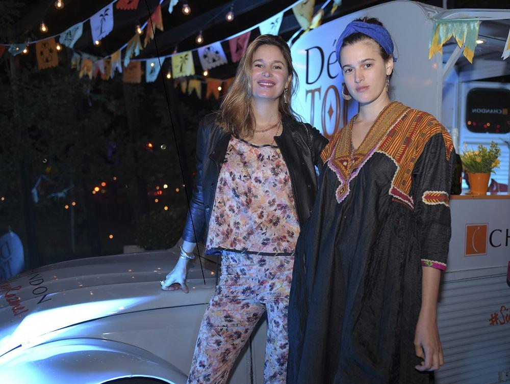 Dolores y Bernardita Barreiro en el Délice Tour en Yonko´s