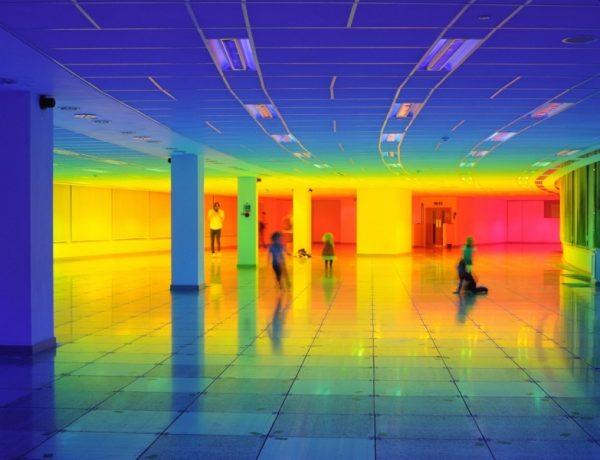 Liz West rainbow our colour arco iris londres