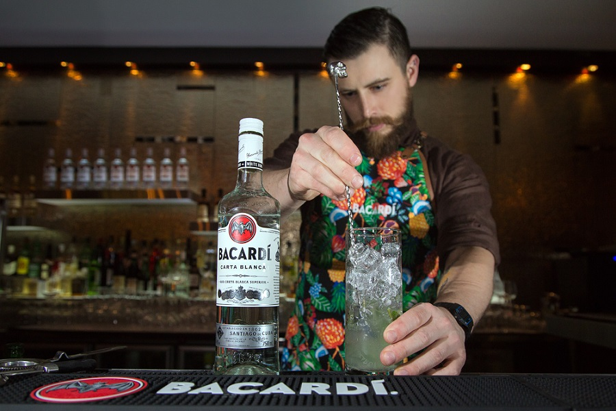 Bacardi legacy Cocktail 2017