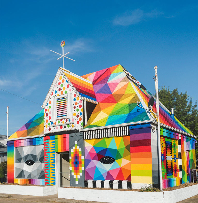 Okuda San Miguel Capilla Universal casa deshabitada Arkansas