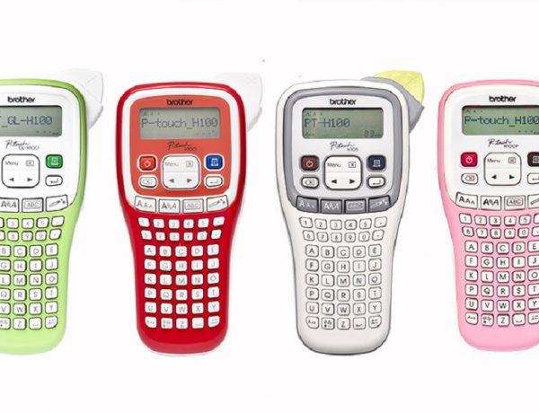 Rotuladora PT-Green, PT-Red, PT- White y PT-Pink [Brother]