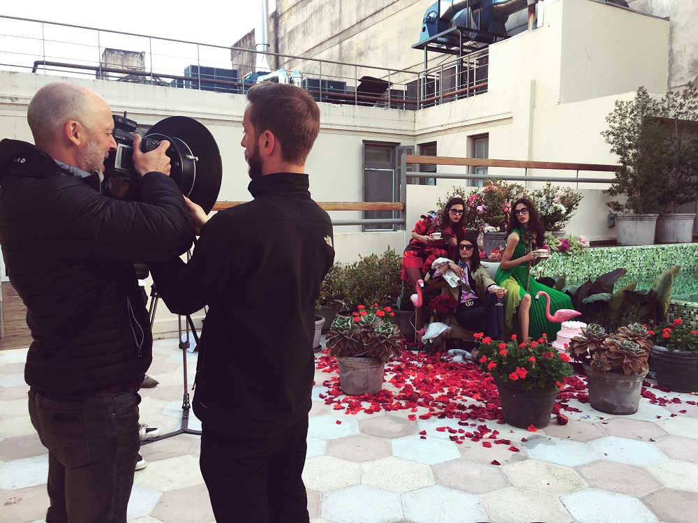 Shooting Campaña CHIC IN hotel Esplendor savoy rosario gabriel rocca loqueva (7)