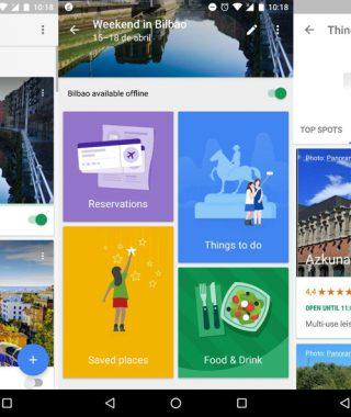 google trips app viajes