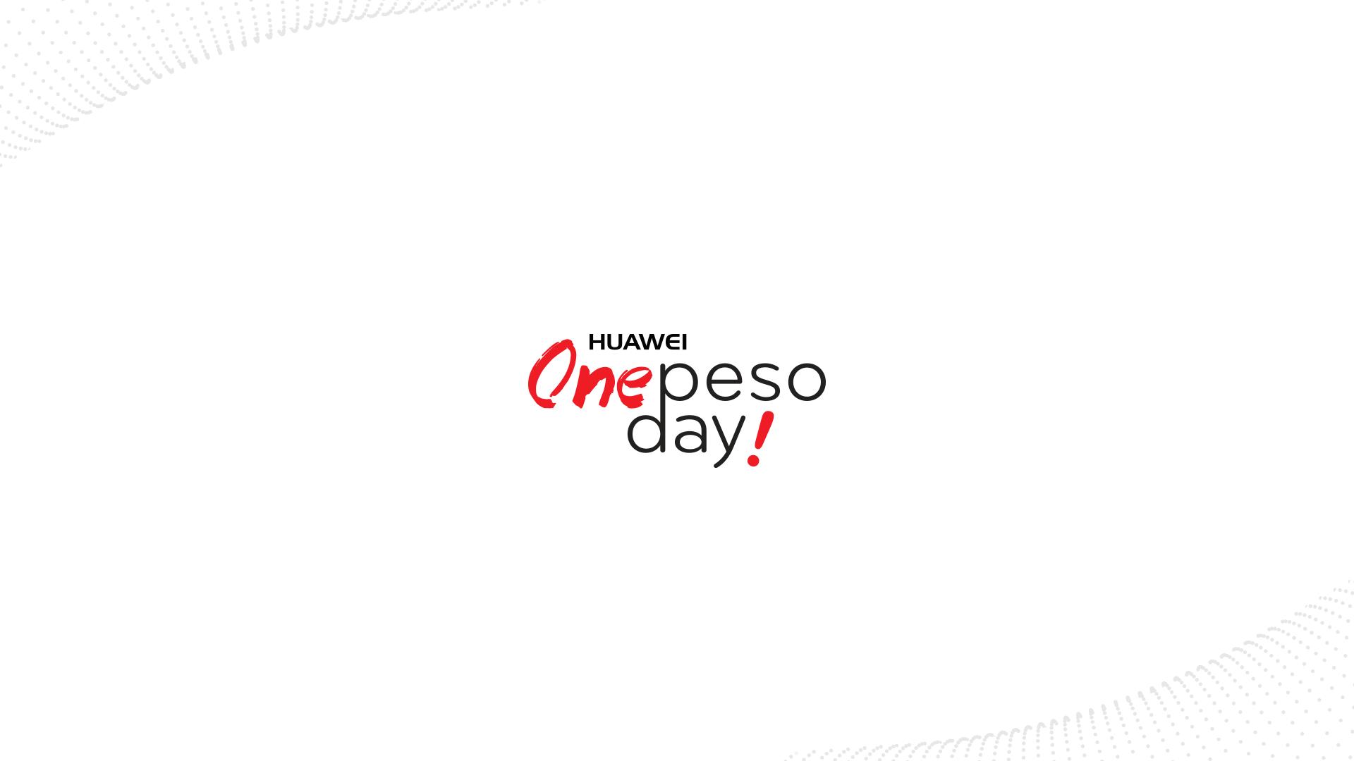 one peso day smartphones a un peso
