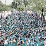 Más de 3000 personas corrieron farmacity Spring Roller en Palermo