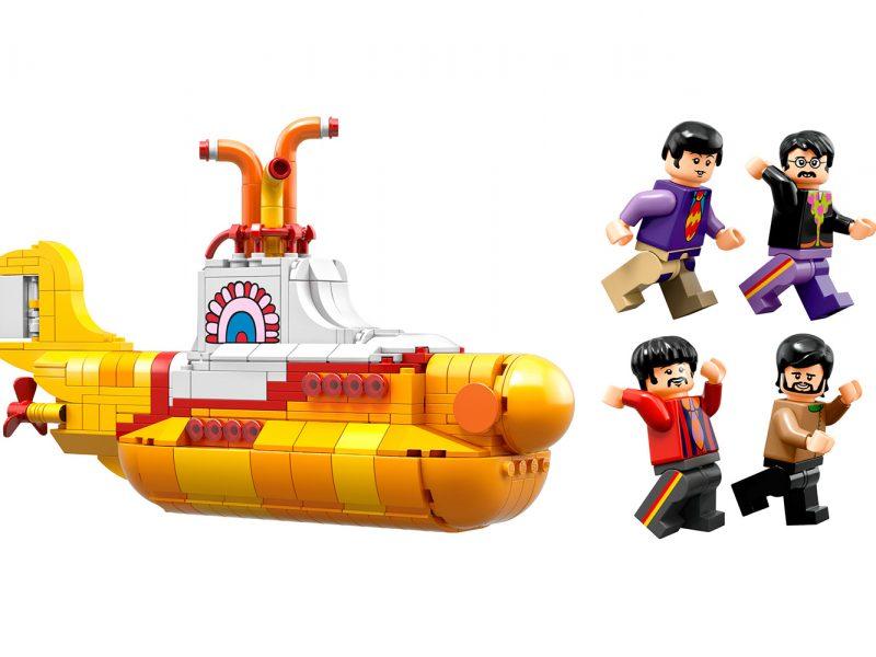 Submarino amarillo Beatles LEGO