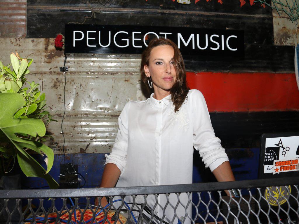 Cata Spinetta en Peugeot Music Driven de Peugeot en Punta del Este