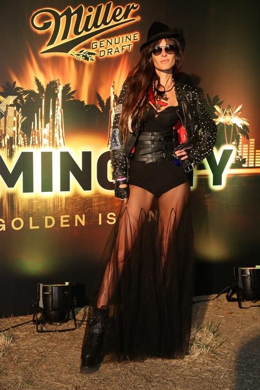 Concepción Blaquier disfrutó la noche en Punta del Este en la fiesta Luminocity de la mano de Miller Genuine Draft.