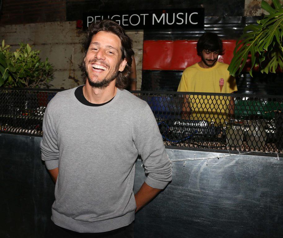 Gastón Gaudio en Peugeot Music Driven en La Casita, en Punta del Este