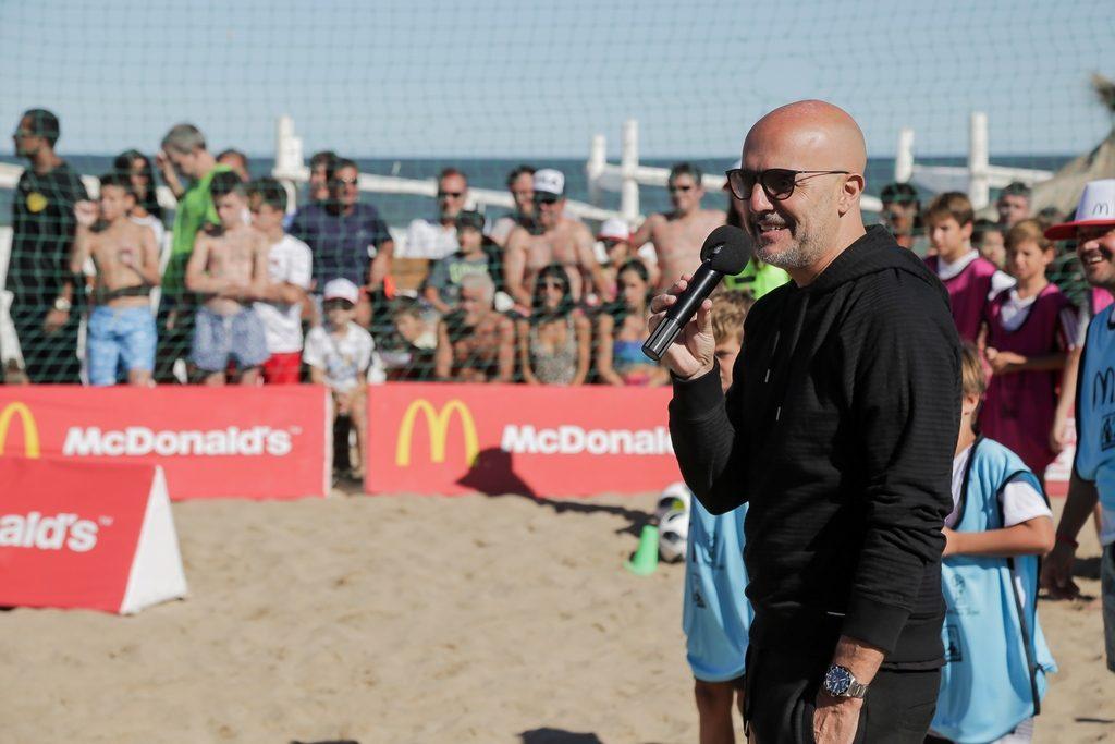 Guillermo López McDonald's verano 2018 loqueva
