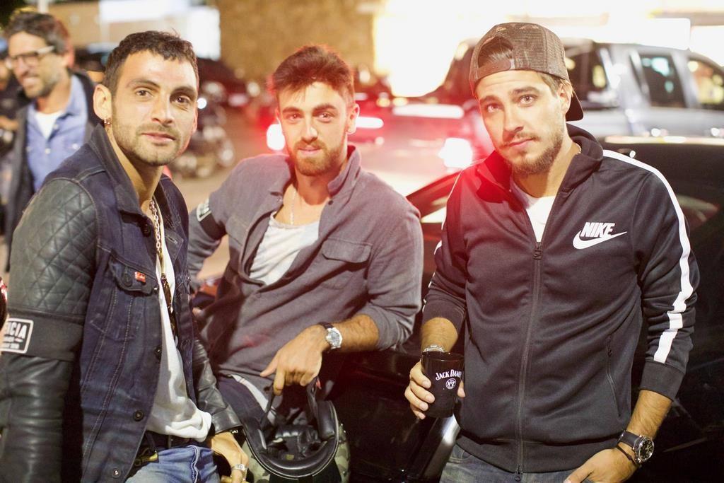 Ilan Slazer , Hugo Lopez y Joaquin Rozas creadores de Dean & Dennys participaron del ride
