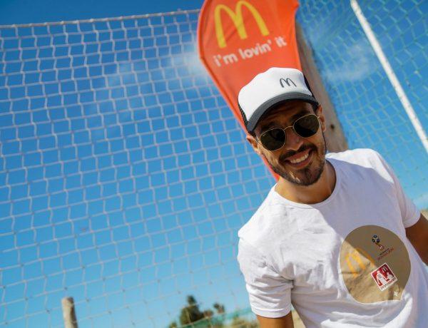 Juan Marconi- Pinamar -Clínica Futbol McDonalds