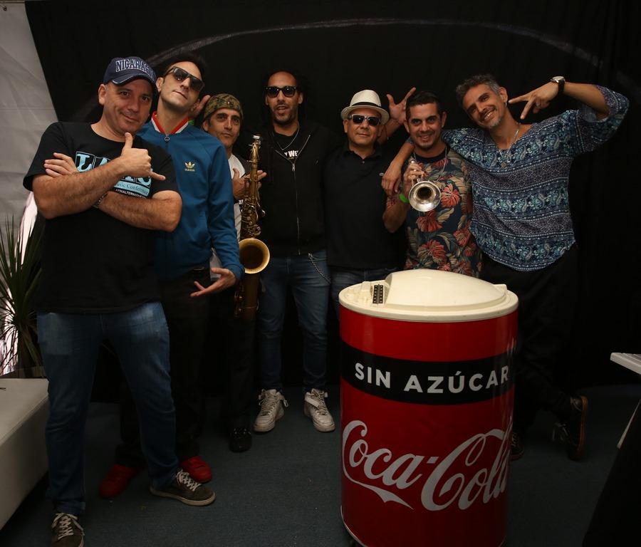 Los Cafres cerraron el show en la presentación de Coca-Cola Sin Azúcar
