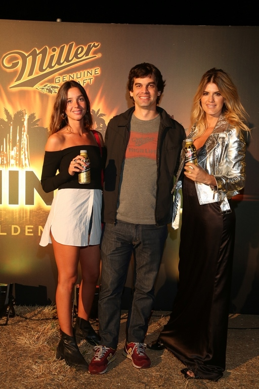 Lucia Celasco, María Del Cerro y  Bauti Rolon, marketing de Miller