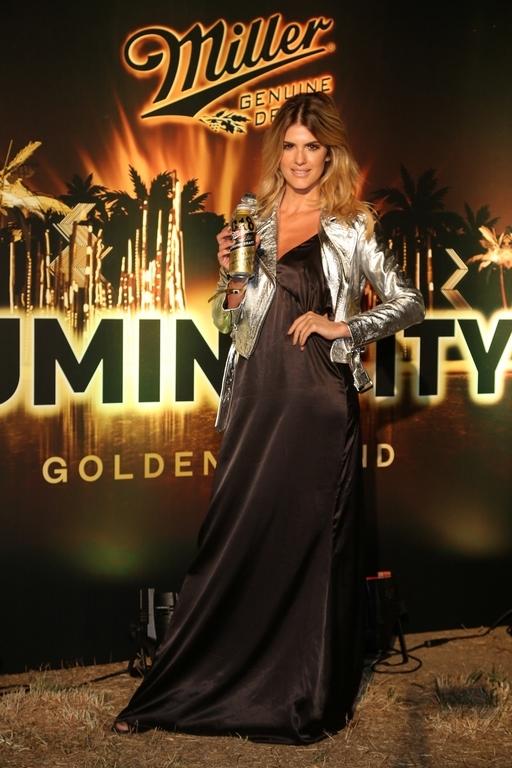 Maria Del Cerro disfrutó la noche en Punta del Este en la fiesta Luminocity de la mano de Miller Genuine Draft.