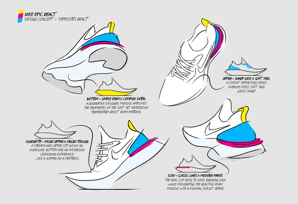 Nike presenta en Argentina la tecnología Nike Epic React