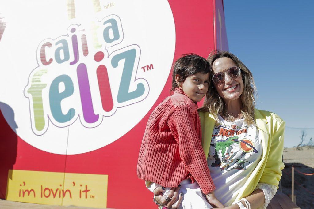 Soledad Villareal con su hijo McDonald's