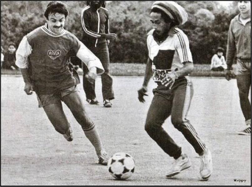 Bob Marley, el reggae y el fútbol