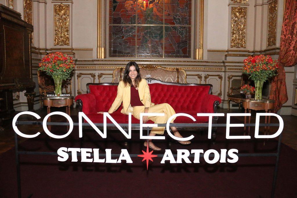 Cintia Garrido en el cocktail de Stella Artois en el marco de Connected en el Teatro Colon (11)