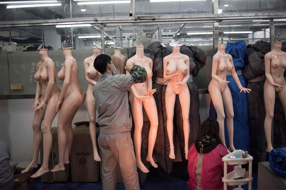 Exdoll interior de una fábrica china de muñecas sexuales